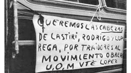 Las protestas contra el ajuste económico del Rodrigazo