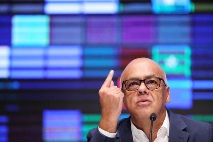 Jorge Rodríguez. Foto: REUTERS/Manaure Quintero