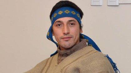 Facundo Jones Huala, referente de las comunidades mapuches de Chubut y Río Negro