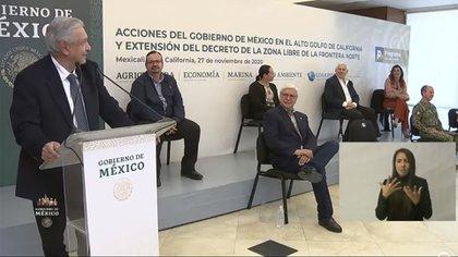 López Obrador dijo que por el momento el estimulo duraría hasta el 2024 (Foto: Captura de pantalla)