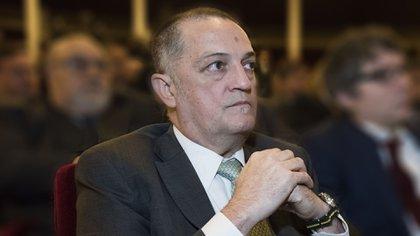 El juez Rodríguez, acusado de cobrar una coima millonaria (foto Adrián Escandar)