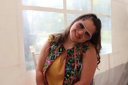 Isabella se encuentra en México para una pasarela incluyente (Foto: Infobae México)
