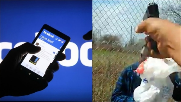 Facebook transmitió un homicidio en Cleveland.