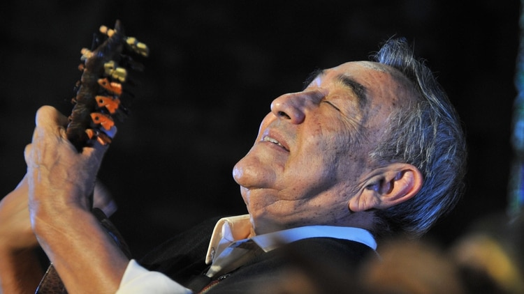 Jaime Torres en Bariloche (Foto: Alejandra Bartoliche/Télam/ef)