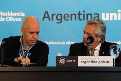 Rodríguez Larreta le ganó su puja judicial a Alberto Fernández (Foto: Franco Fafasuli)