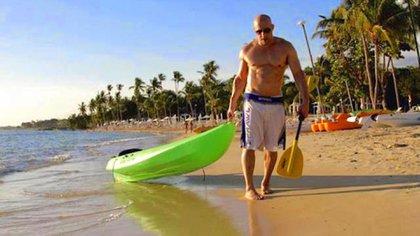 Vin Diesel es otro de los adoradores de la arena dominicana.