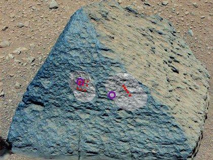 Roca marciana. Imagen: NASA 162
