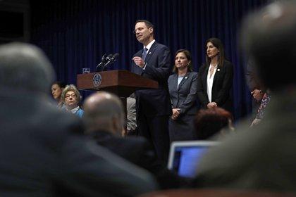 El fiscal general de Pensilvania, Josh Shapiro, denunció los escabrosos detalles de los abusos (AP)