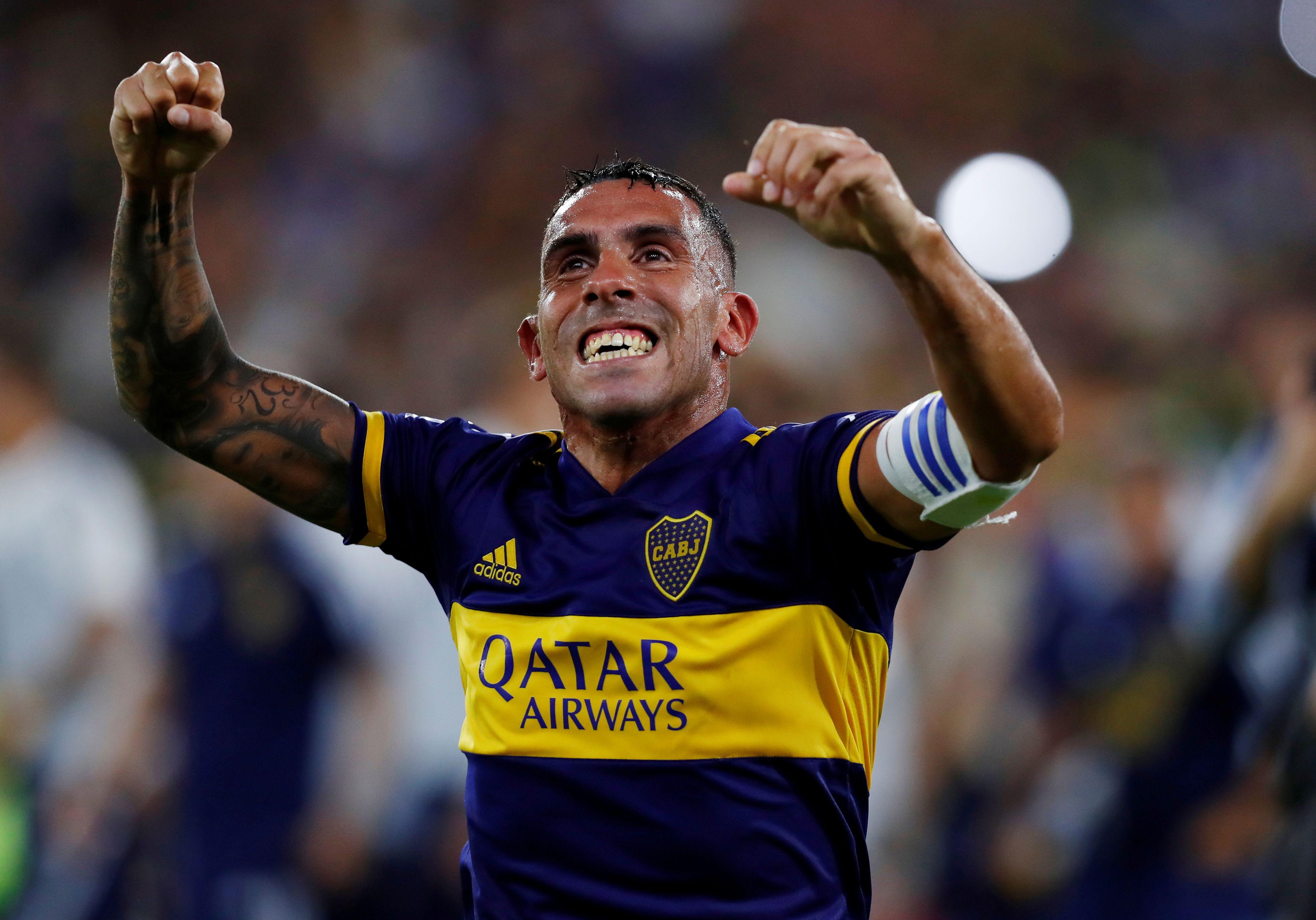 Tevez sueña con levantar otra Libertadores con Boca (REUTERS/Agustin Marcarian)
