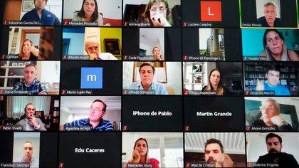 Los diputados del PRO que participaron de la charla