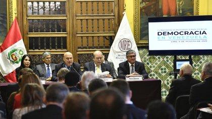 El anuncio del Ministerio de Relaciones Exteriores del Perú sobre la Conferencia, que reunirá a delegaciones de 59 estados y 3 organismos internacionales