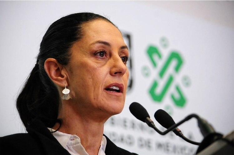 Para la jefa de gobierno, Claudia Sheinbaum,el hurto de celulares implica un robo de identidad.(Foto: Cuartoscuro)