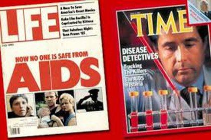 """Las primeras portadas dedicadas a la pandemia aluden a la tarea detectivesca de los científicos. Y la advertencia: """"Nadie está a salvo del sida"""""""