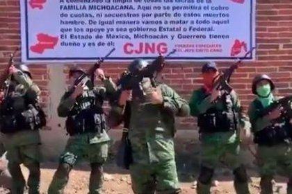 El Cártel Jalisco Nueva Generación es uno de los grupos criminales en el Edomex (Foto: Especial)