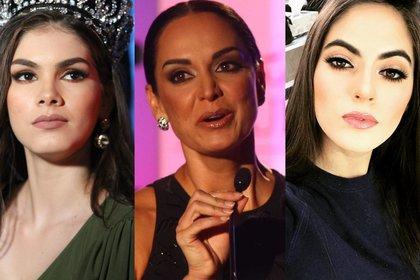 Denisse Franco y Sofía Aragón no son las únicas reinas de belleza que han criticado los manejos al interior de Mexicana Universal (Foto: Cuartoscuro/@instagram@sofaragon)