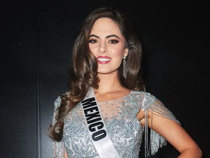 Mandatory Credit: Photo by Miss Universe Organization/ZUMA Wire/Shutterstock (10495225af)Sofía Aragón, Miss Mexico 2019 backstage during The Miss Universe CompetitionMiss Universe Competition, Backstage, Tyler Perry Studios, Atlanta, USA - 08 Dec 2019