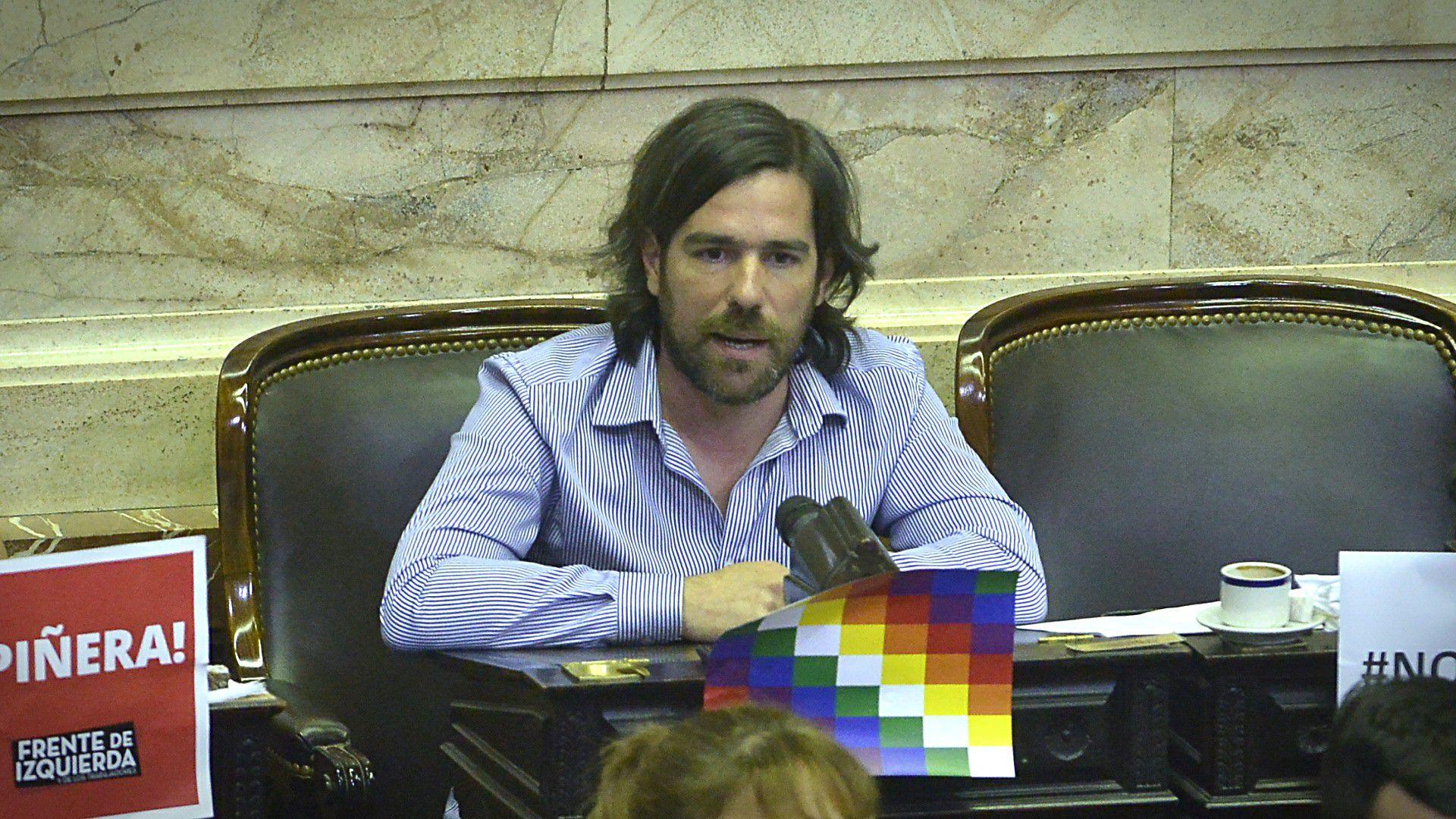 Nicolás del Caño renunció a su banca en el Congreso (Gustavo Gavotti)