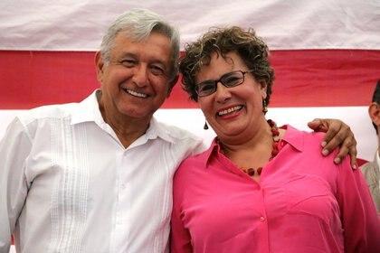 Bertha Luján descartó participar en el proceso interno de Morena (Foto: Especial)