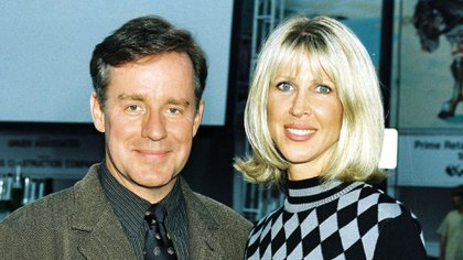 Phil Hartman y Brynn en 1996  Photo by Bei/Shutterstock (5132693r)