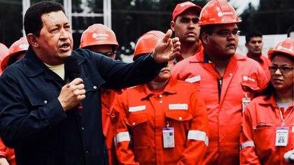 Juan Carlos Márquez tenía un alto puesto en la petrolera estatal durante el gobierno de Chávez