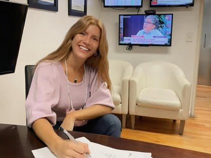 Laurita Fernández firmó con Kuarzo para conducir un programa sobre mujeres divorciadas