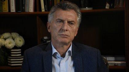 Mauricio Macri (Nicolás Stulberg)