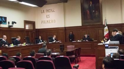 La Suprema Corte discutió el polémico caso este lunes de manera remota (Foto: Cuartoscuro)