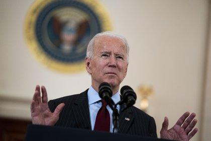 En la imagen, el presidente de EE.UU., Joe Biden. EFE/Doug Mills/Archivo