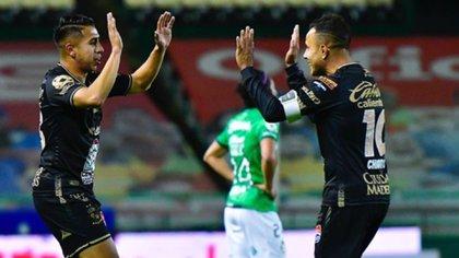 """Con goles de Luis """"Chapito"""" Montes y David """"Avión"""" Ramírez, León remontó el marcador (Foto: Instagram @ClubLeon_Oficial)"""