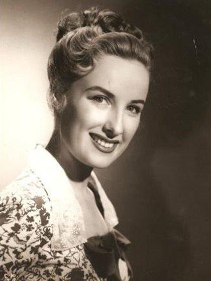 Mirtha Legrand, en sus primeros años como actriz
