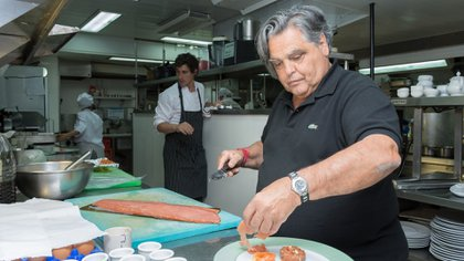 """""""Ir a una casa para mí es un placer, no hay que tener miedo de invitarme, pero tienen que hacer lo que realmente saben hacer"""", aseguró el chef."""