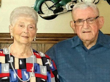 Margaret y Don Livengood. Vivieron juntos 59 años. Murieron tomados de la mano (Gentileza Familia Livengood)