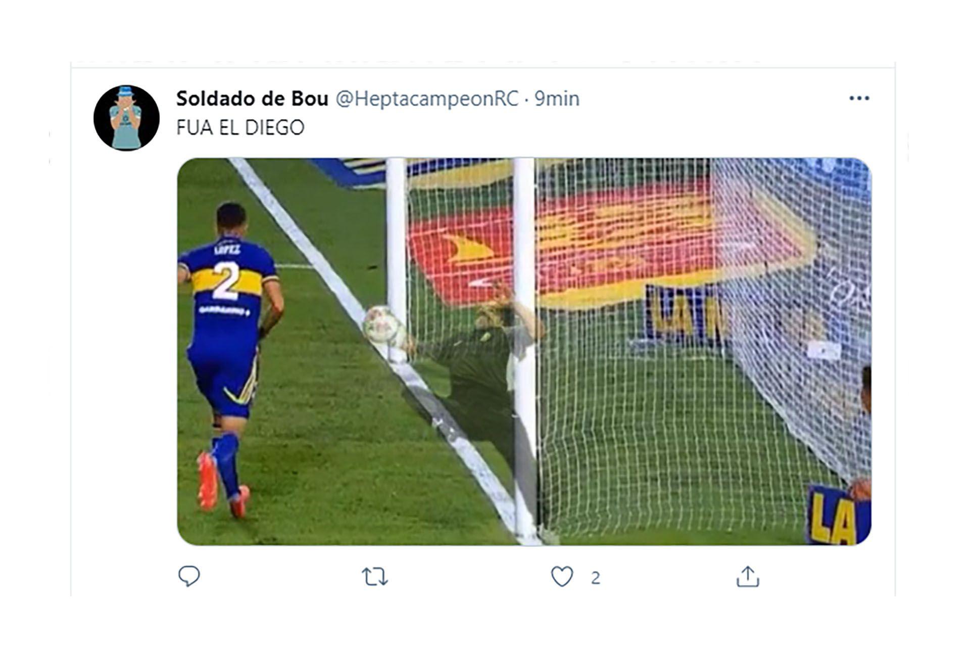 memes Maradona Boca Superclásico