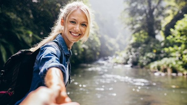 El contacto con rios, cataratas y lagos hace aún mejor la experiencia al aire libre(iStock)