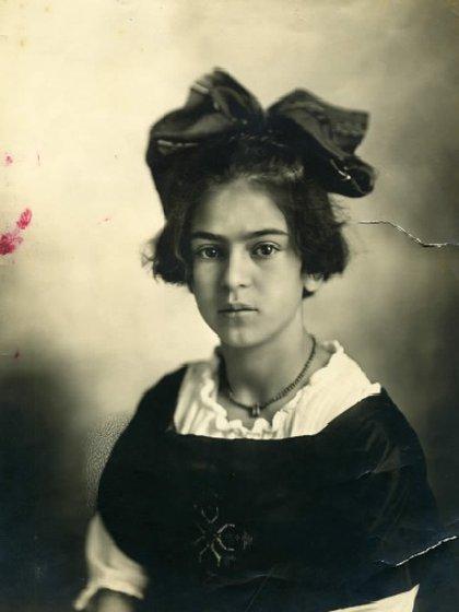 Frida Kahlo, 15 de junio de 1919 (Foto: Sitio Web Museo Frida Kahlo)