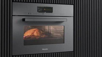 El horno posee una identificación inteligente de alimentos en la cual,  la cámara puede detectar qué plato está dentro del horno y sugerir un programa apropiado para dicho alimento.