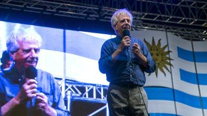 Tabaré Vázquez en campagne à Montevideo, Uruguay, en 2014. Photographe: Mariana Greif Etchebehere / Bloomberg
