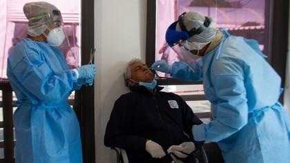 Medical staff taking tests COVID-19 (Photo: Cuartoscuro)