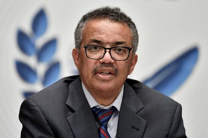 Tedros Adhanom Ghebreyesus, director general de la OMS (Fabrice Coffrini/Pool via REUTERS)
