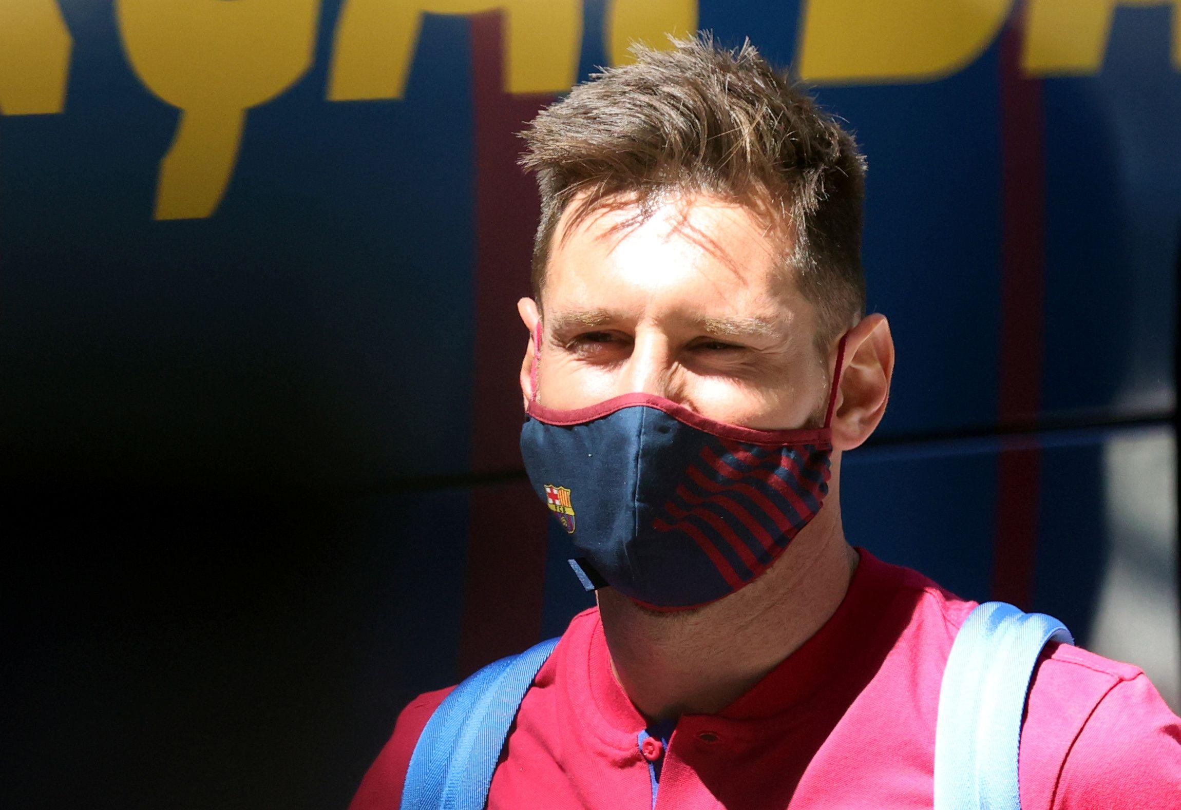 Lionel Messi estaba descansando en compañía de las familias de Luis Suárez y Jordi Alba (Foto: Reuters)