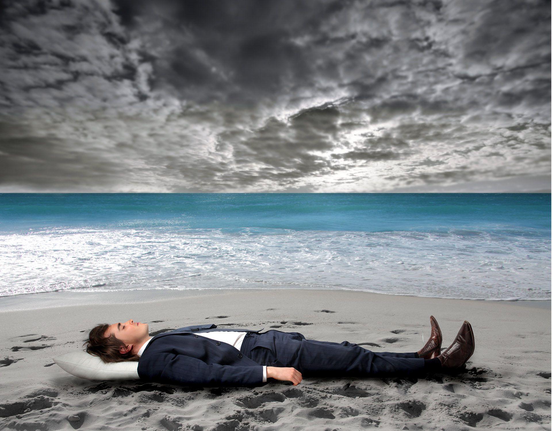 Los altos niveles de estrés pueden derivar en enfermedades como la depresión y la ansiedad (Shutterstock)