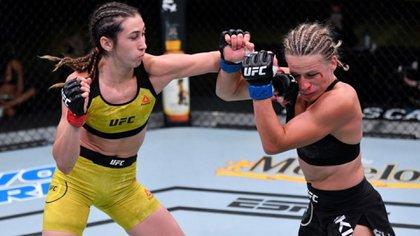 Tres hombres y una mujer representarán al país en la máxima categoría de las artes marciales mixtas. Vía: UFC