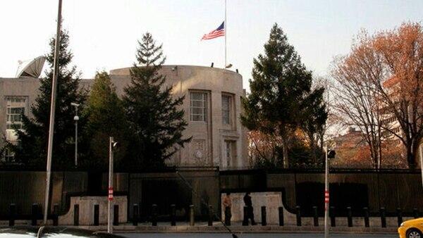 La embajada de Estados Unidos en Ankara