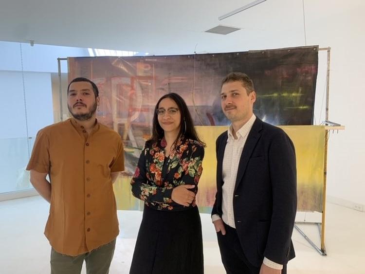 Bruno Del Giudice, Lucrecia Lionti y Agustín González Goytía (Prensa MARCO)