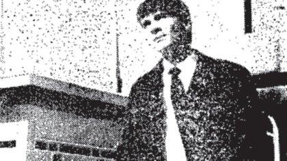 La imagen de Ismael Darío Abdalá que publicó el diario Clarín en 1991