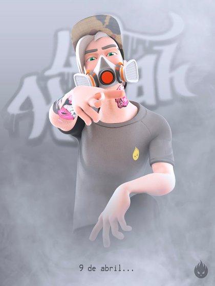 El trapero LIT Killah tiene su propio videojuego móvil