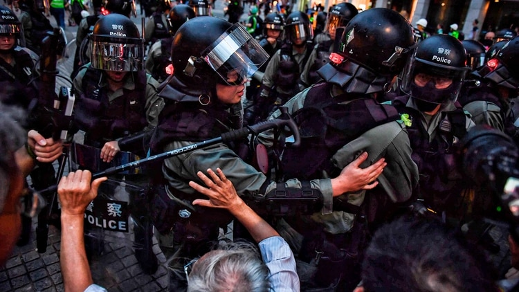 Protestas en Hong Kong. (AFP)