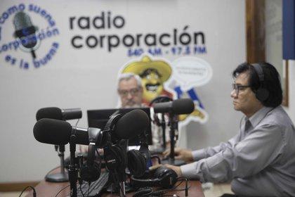 La violencia hacia los periodistas en Nicaragua se agudizó luego del estallido popular contra el presidenta Ortega en abril de 2018, cuando las manifestaciones antigubernamentales dejaron cientos de presos, muertos y desaparecidos, miles de heridos y decenas de miles en el exilio. EFE/Jorge Torres/Archivo