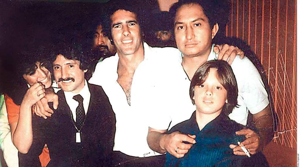 Luis Miguel y su padre, durante sus primeras presentaciones públicas