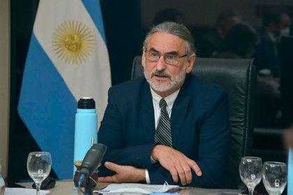 Luis Basterra, ministro de Agricultura, Ganadería y Pesca de la Nación (Ministerio de Agricultura, Ganadería y Pesca de la Nación)